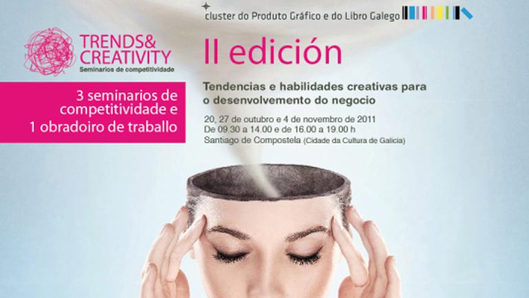 Imagen del cartel de la segunda edición de Trends&Creativity II