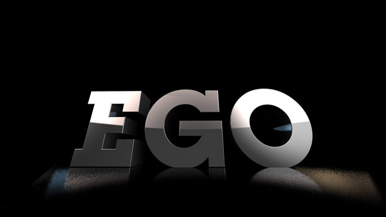 Texto corporeo que pone de manifiesto el juego de palabras que utiliza El puto Coke como lema de la pieza, Gal-EGO.
