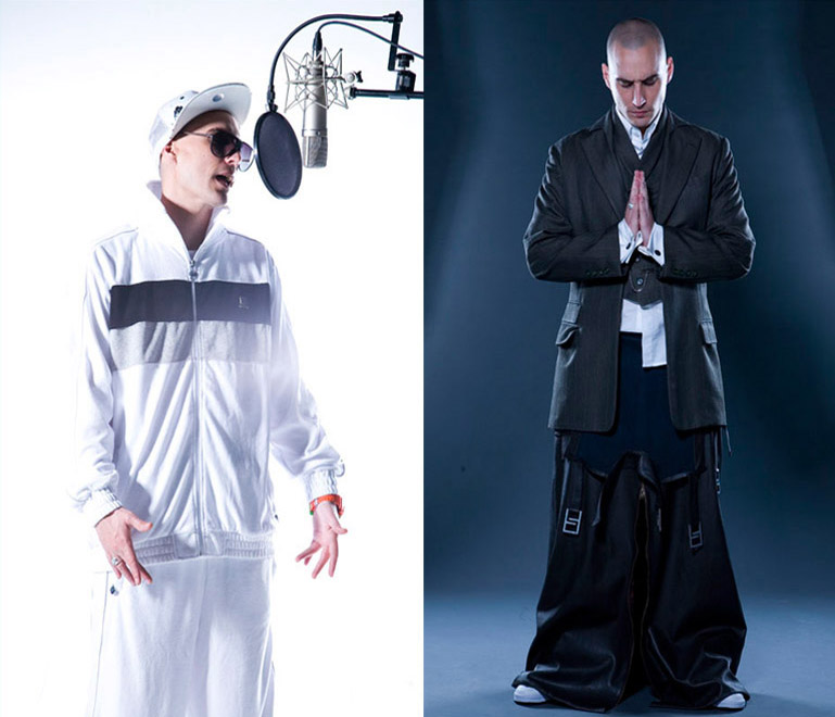 Diseño de vestuario de Cristóbal Vidal. Sesión fotográfica complementaria al proyecto del videoclip realizada por [gf]Studio.