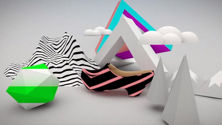 La zoca en un mundo geométrico, digital y virtual, como nexo de unión al futuro.